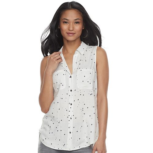 Women's Rock & Republic® Split-Back Shirt