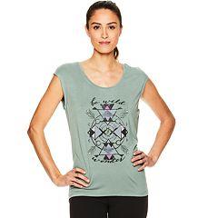 Women's Gaiam Dani Yoga Graphic Tee