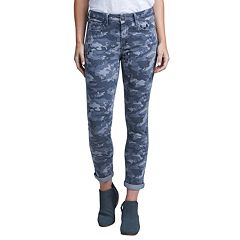 Women's Seven7 Camo High Rise Slim Straight-Leg Jeans
