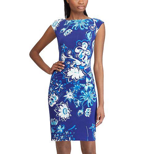 Women's Chaps Floral Sheath Dress