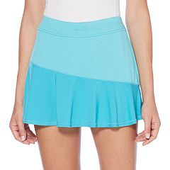 Women's Grand Slam Heathered Color Block Tennis Skort