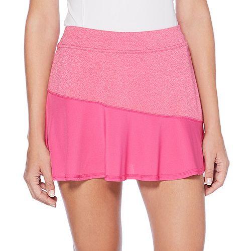 Women's Grand Slam Heathered Color Block Tennis Skort