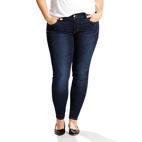 b3d5e91be2912 Plus Size Levi's 310 Shaping Super Skinny Jeans
