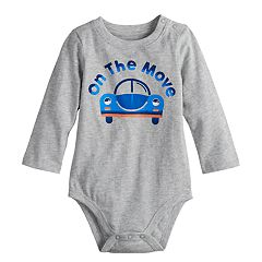 Baby Boy Jumping Beans® Graphic Softest Bodysuit