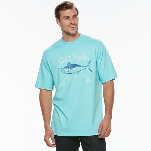 Big & Tall IZOD Saltwater Graphic Tee