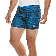 Men's New Balance 2-pack Dry Fresh 6-inch Boxer Briefs