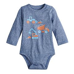 Baby Boy Jumping Beans® Trucks Graphic Bodysuit
