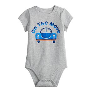 Baby Boy Jumping Beans® Softest Graphic Bodysuit