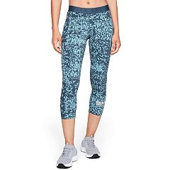 Women's Under Armour Favorite Midrise Printed Capri Leggings