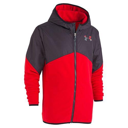 Boys 4-7 Under Armour ColdGear Lightweight Microfleece Hooded Jacket