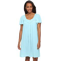 Women's Miss Elaine Essentials  Short Sleeve Night Shirt