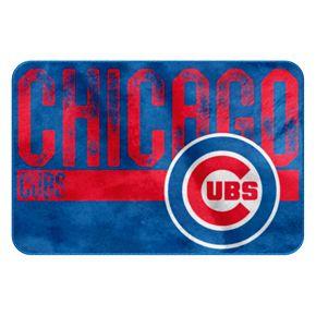 Chicago Cubs Memory Foam Bath Mat