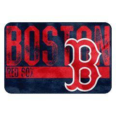 Boston Red Sox Memory Foam Bath Mat