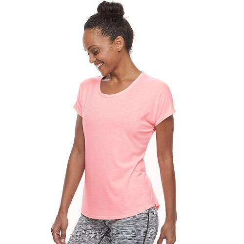 Women's Tek Gear® Mesh Back Short Sleeve Tee