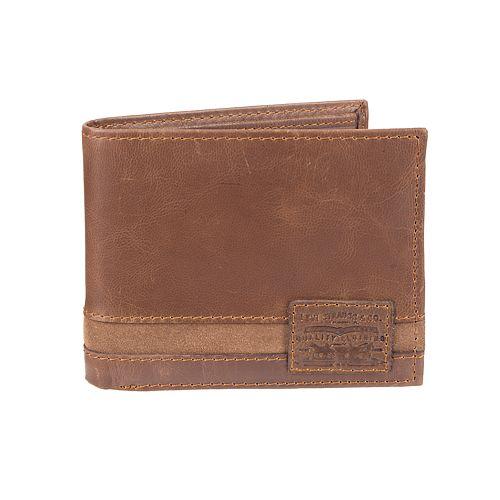 Men's Levi's® RFID-Blocking Extra Capacity Traveler Wallet