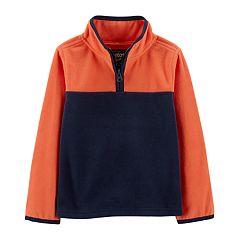 Toddler Boy OshKosh B'gosh® 1/4 Zip Fleece Pullover