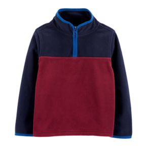 Toddler Boy OshKosh B'gosh® 1/4 Zip Fleece Pullover