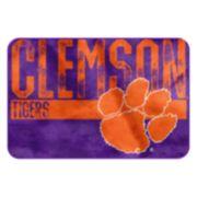 Clemson Tigers Memory Foam Bath Mat