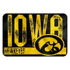 Iowa Hawkeyes Memory Foam Bath Mat