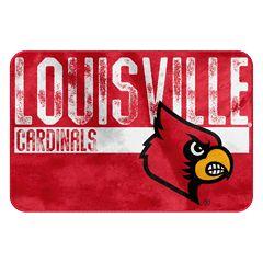 Louisville Cardinals Memory Foam Bath Mat