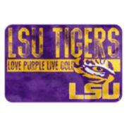 LSU Tigers Memory Foam Bath Mat
