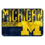 Michigan Wolverines Memory Foam Bath Mat