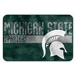 Michigan State Spartans Memory Foam Bath Mat