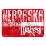 Nebraska Cornhuskers Memory Foam Bath Mat