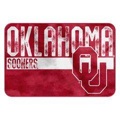 Oklahoma Sooners Memory Foam Bath Mat