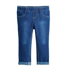 Toddler Girl Jumping Beans® Cuffed Faux-Denim Jeggings