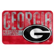 Georgia Bulldogs Memory Foam Bath Mat