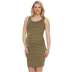 Maternity a:glow Essential Ruched Sheath Dress