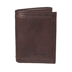 Men's Levi's® RFID-Blocking Trifold Wallet With Zipper Pocket