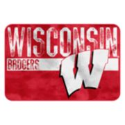 Wisconsin Badgers Memory Foam Bath Mat