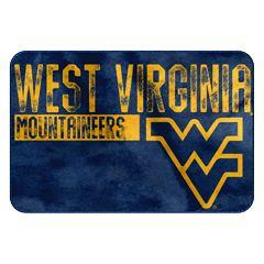 West Virginia Mountaineers Memory Foam Bath Mat