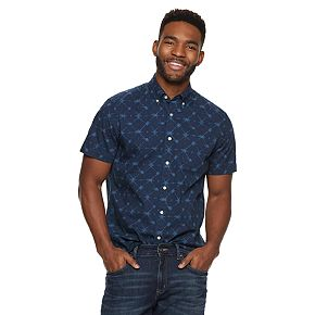 Men's SONOMA Goods for Life? Perfect Length Button-Down Shirt