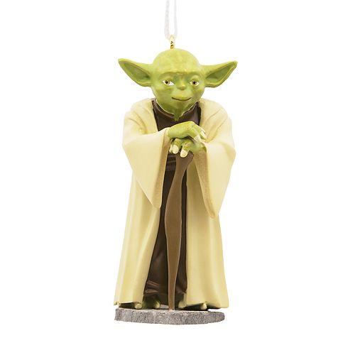 Star Wars Yoda 2018 Hallmark Christmas Ornament