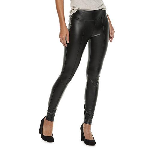 Women's Rock & Republic® Faux-Leather Leggings
