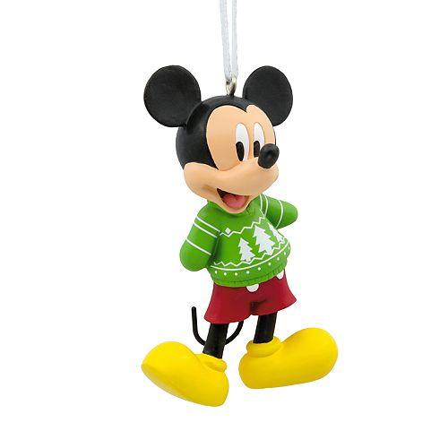 Hallmark Christmas Ornaments.Disney S Mickey Mouse Christmas Sweater 2018 Hallmark