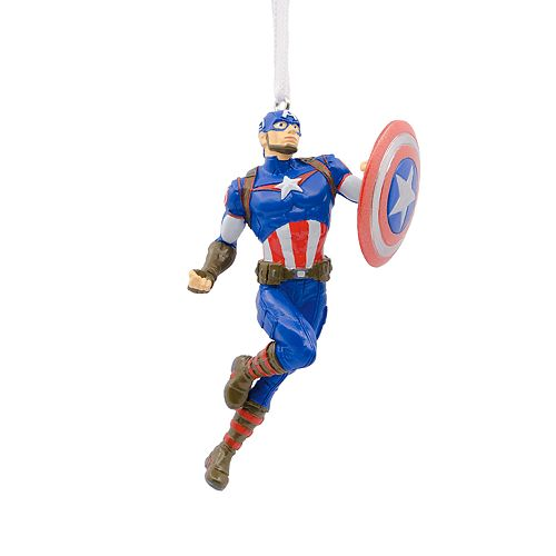 Marvel Avengers Captain America 2018 Hallmark Christmas Ornament