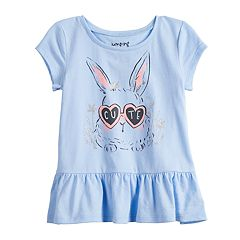 Toddler Girl Jumping Beans® Peplum-Hem Top