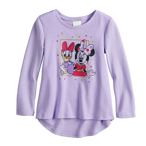 2165035fc Disney's Minnie Mouse & Daisy Duck Toddler Girl Thermal Graphic ...