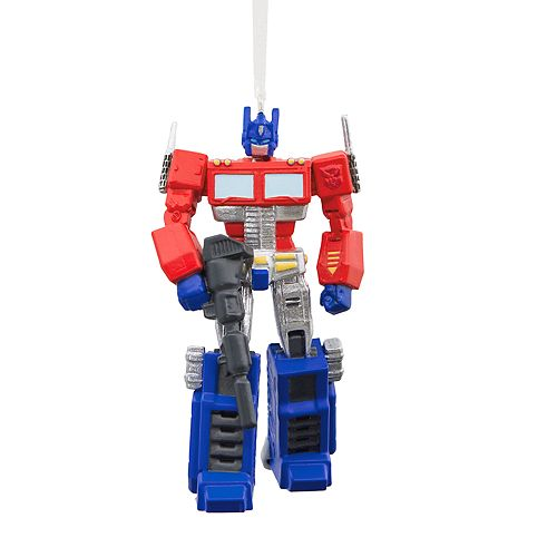 Hasbro Transformers Optimus Prime 2018 Hallmark Christmas Ornament