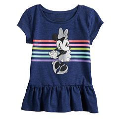 Disney's Minnie Mouse Toddler Girl Peplum-Hem Top by Jumping Beans®