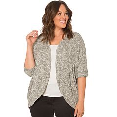 Plus Size 89th & Madison Cocoon Cardigan