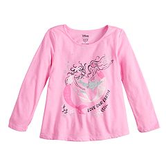 Toddler Girl Jumping Beans® Glittery Long-Sleeve Swing Top