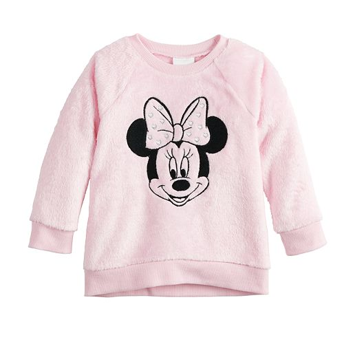 Disney's Minnie Mouse Toddler Girl Sherpa Sweatshirt by Jumping Beans®