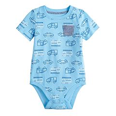 Baby Boy Jumping Beans® Pocket All Over Graphic Bodysuit