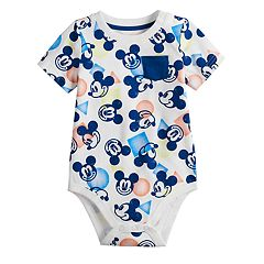 Disney's Mickey Mouse Baby Boy Pocket Bodysuit by Jumping Beans®