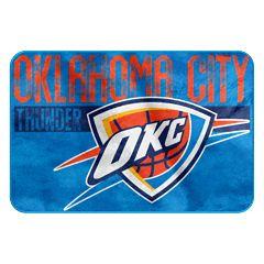 Oklahoma City Thunder Memory Foam Bath Mat